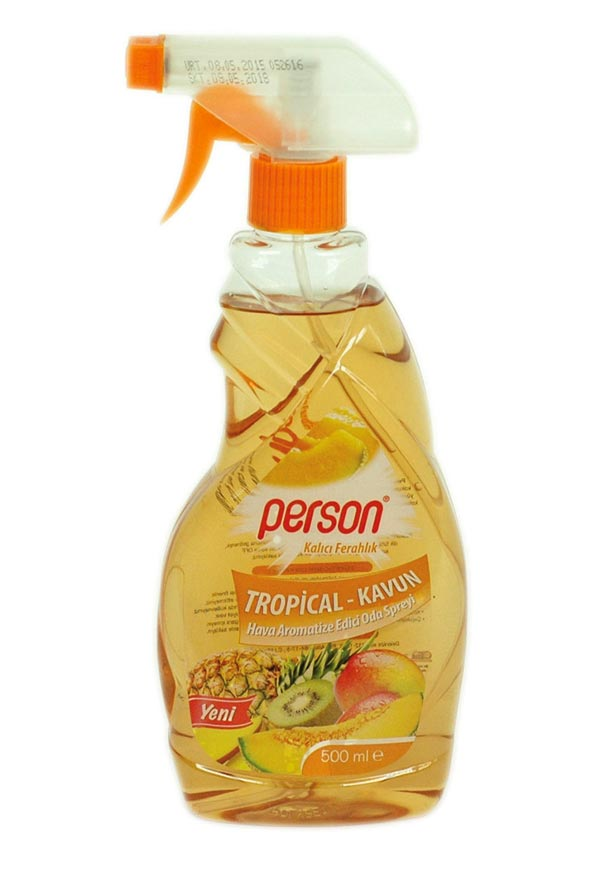 PERSON ODA PARFÜMÜ SPREYLİ (TROPİKAL KAVUN) 500 mL